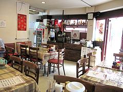 店内:テーブル席@中華料理・王さん・高宮