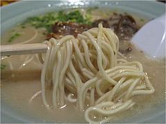10ランチ:豚骨ラーメン麺@居酒屋kikura(キクラ)・博多駅