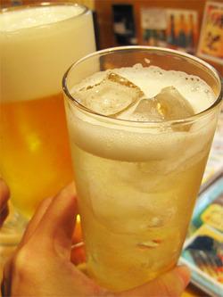 3ビールとハイボール@博多てんき屋