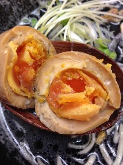 10煮玉子@鶏白湯ぼっこ志
