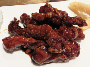 5黒酢の酢豚@香港プラザ