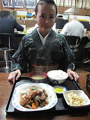 1ランチ:スーパイコ定食840円@博多ラーメン一点公・大橋