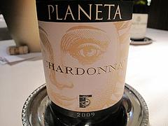 11ディナー:プラネタPlaneta Chardonnay 2009@カノビアーノ福岡・天神