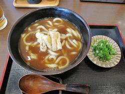7カレーうどん650円@かつ煮いし原