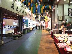 外観:柳橋市場の通り2@柳橋連合市場・柳橋食堂