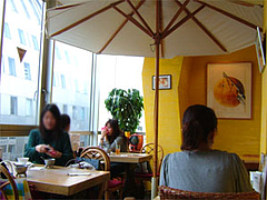 スリランカ料理ツナパハの店内@福岡・天神西通り