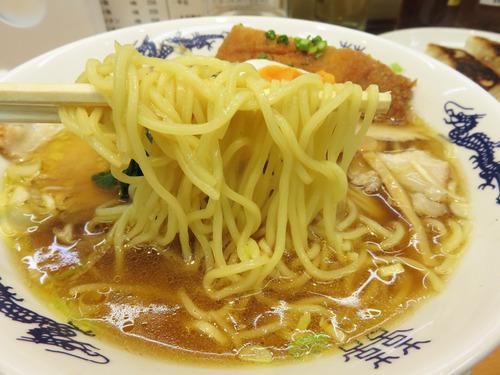 15チャーシューメン麺