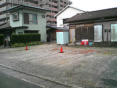 外観:駐車場2台分@博多一心亭
