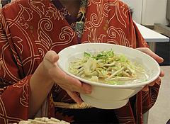 料理:まかないラーメン500円@元祖長浜ラーメン・ぶんりゅう