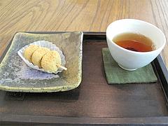 料理:ほうじ茶ときびだんご@蛸松月・柳橋連合市場