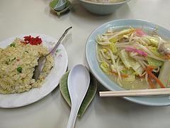料理:チャンポンチャーハンセット650円@鳳凰(ほうおう)・飯倉