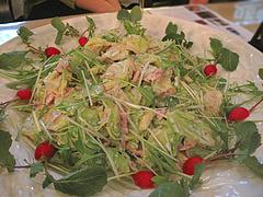 3ハムとキャベツのサラダ@イタリアワイン会・福岡