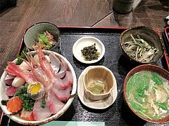 料理:海鮮丼定食1,400円@海の味・有福・サンセルコ