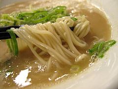 7ランチ:ラーメン麺バリカタ@博多拉麺・宗(ラーメンそう)・薬院