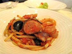 料理:茄子とトマトパスタ@クラウンカフェ・ANAクラウンプラザ