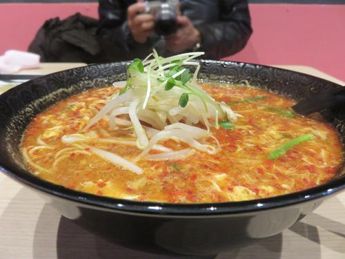 12辛麺最凶920円+もやし増し50円