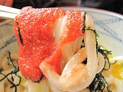 料理:明太釜玉めんたいこ@丸亀製麺・西月隈店