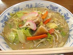 料理:ちゃんぽん空撮@魚魚・居酒屋
