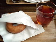 ドーナツセット(ウガンダバニラと紅茶)@ケンジーズカフェ(Kenji屋)