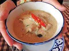 料理:グリーンカレー@カオサン・タイ料理・薬院