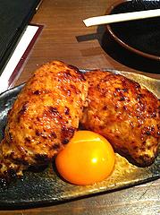 13居酒屋:鶏のつくね・黄身@焼鶏工房めっしー・焼鳥・高砂