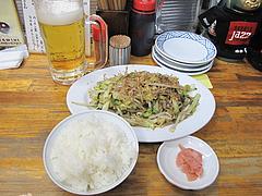 19料理:野菜炒め定食@鉄板焼・お好み焼き・居酒屋・好味(このみ)