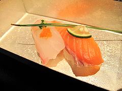 料理:特選握り鮨の膳の寿司2@海山邸・ザショップス