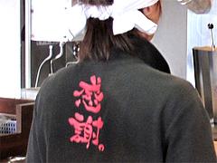 店内:感謝Tシャツ@ラーメン博多ちょうてん・博多駅前