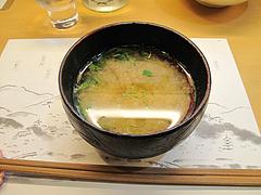 6居酒屋:しじみの味噌汁@和食・おばんざい・和さび・京都