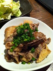 7居酒屋:鶏の酢もつ@焼鶏工房めっしー・焼鳥・高砂