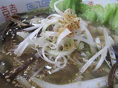 料理:魚魚ラーメンアップ@魚魚(ぎょぎょ)・長住