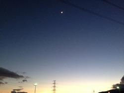 10トワイライトブルー@基山PA・ドトール