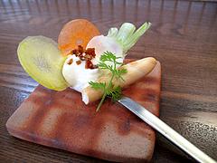 12ランチ:小さな前菜・カリフラワーディップ@食堂シェモア・フレンチ・イタリアン・洋食