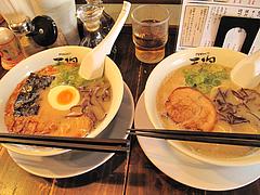料理:久留米ラーメン2種@天砲ラーメン・春日