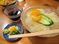 料理:冷麺420円@葉隠うどん・博多駅南