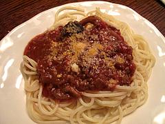 15スパゲティ・ミートソース@ワイン会