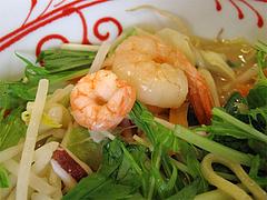 料理:【期間限定】かきちゃんぽんのエビちゃん@リンガーハット福岡大橋店
