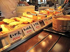 店内:天ぷらコーナー@丸亀製麺・那珂川・福岡