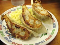 料理:手作り餃子@ラーメンやまもと春日本店