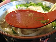 料理:肉玉ごぼううどんつゆ@丸亀製麺・那珂川店