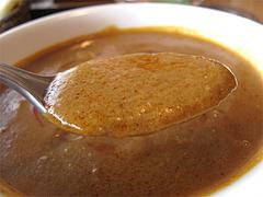 料理:チキンカレースープ@インドレストラン・タージ・大橋