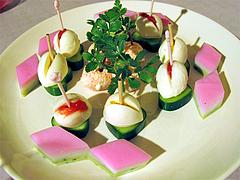 料理:フィンガーフード盛り合わせ@ひなまつり・女子会