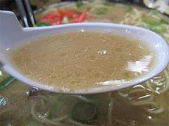 料理:ラーメンスープ@長浜ラーメン・みっちゃん