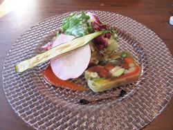 8十種野菜のテリーヌ@白金茶房・白金酒店