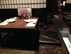 3掘り炬燵式テーブル席@楽宴