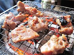 料理:地鶏炭焼を育てた@地鶏炭火焼・佐土野家・湯布院(由布院)