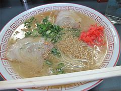 料理:ラーメン450円@ラーメン基峰・笹丘エムザス