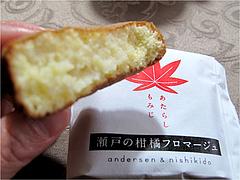 3瀬戸の柑橘フロマージュ@にしき堂・もみじ饅頭