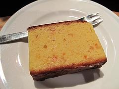 料理:フルーツケーキ?@夢空間はしまや・カフェ・倉敷