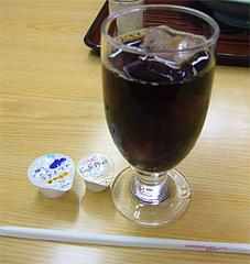 本格的アイスコーヒー@うちだ屋清川店